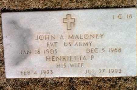 MCQUILLAN MALONEY, H. - Yavapai County, Arizona | H. MCQUILLAN MALONEY - Arizona Gravestone Photos