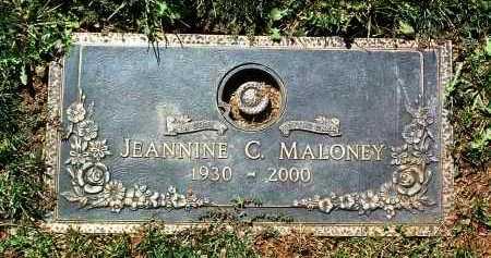 BARLE MALONEY, JEANNINE - Yavapai County, Arizona | JEANNINE BARLE MALONEY - Arizona Gravestone Photos