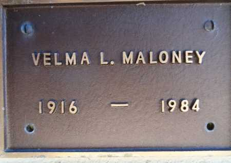 MALONEY, VELMA L. - Yavapai County, Arizona | VELMA L. MALONEY - Arizona Gravestone Photos