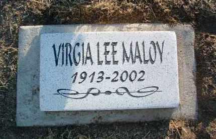 MALOY, VIRGIA LEE - Yavapai County, Arizona   VIRGIA LEE MALOY - Arizona Gravestone Photos