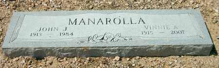 MANAROLLA, VINNIE ALEATHA - Yavapai County, Arizona | VINNIE ALEATHA MANAROLLA - Arizona Gravestone Photos