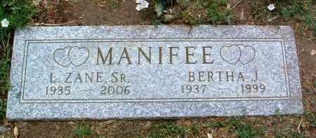 MANIFEE, LEONARD ZANE, SR. - Yavapai County, Arizona | LEONARD ZANE, SR. MANIFEE - Arizona Gravestone Photos