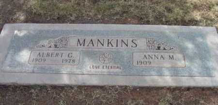 MANKINS, ANNA MAE - Yavapai County, Arizona | ANNA MAE MANKINS - Arizona Gravestone Photos