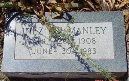 ROUSE MANLEY, INEZ LODISKA - Yavapai County, Arizona | INEZ LODISKA ROUSE MANLEY - Arizona Gravestone Photos