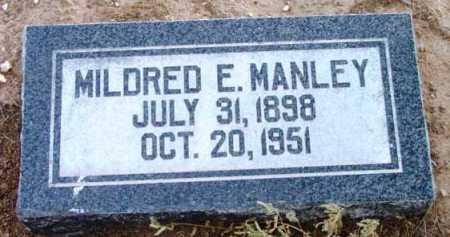 HIATT MANLEY, MILDRED ESTHER - Yavapai County, Arizona | MILDRED ESTHER HIATT MANLEY - Arizona Gravestone Photos