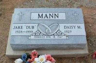 MANN, DAISY M. - Yavapai County, Arizona | DAISY M. MANN - Arizona Gravestone Photos