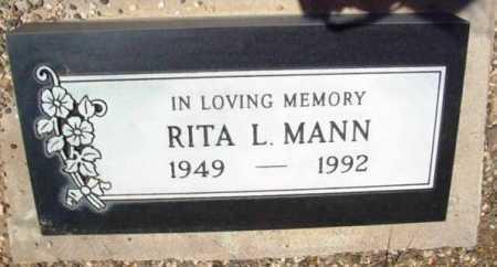 RICHARDS MANN, RITA LOUISE - Yavapai County, Arizona   RITA LOUISE RICHARDS MANN - Arizona Gravestone Photos