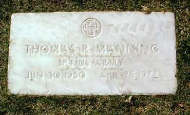 MANNING, THOMAS RICHARD - Yavapai County, Arizona | THOMAS RICHARD MANNING - Arizona Gravestone Photos
