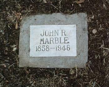 MARBLE, JOHN R. - Yavapai County, Arizona | JOHN R. MARBLE - Arizona Gravestone Photos