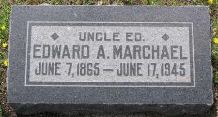MARCHAEL, EDWARD A . - Yavapai County, Arizona   EDWARD A . MARCHAEL - Arizona Gravestone Photos