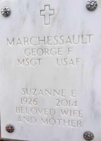 MARCHESSAULT, GEORGE F. - Yavapai County, Arizona | GEORGE F. MARCHESSAULT - Arizona Gravestone Photos