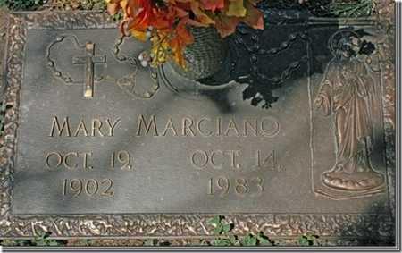 MARCIANO, MARY - Yavapai County, Arizona   MARY MARCIANO - Arizona Gravestone Photos