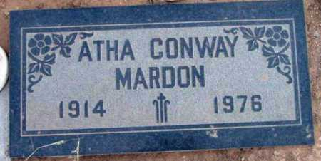 MARDON, ATHEA - Yavapai County, Arizona | ATHEA MARDON - Arizona Gravestone Photos