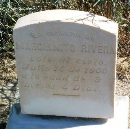 RIVERA, MARCIANITO - Yavapai County, Arizona   MARCIANITO RIVERA - Arizona Gravestone Photos