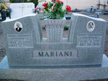 MARIANI, GUIDO JOHN - Yavapai County, Arizona | GUIDO JOHN MARIANI - Arizona Gravestone Photos