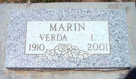 MARIN, VERDA I. - Yavapai County, Arizona | VERDA I. MARIN - Arizona Gravestone Photos