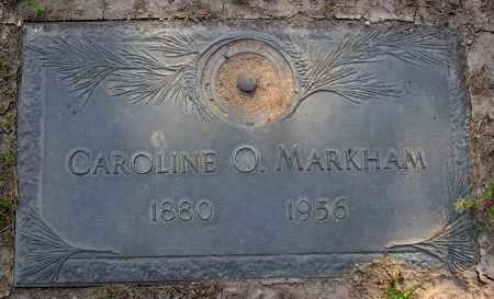 SEVIER MARKHAM, CAROLINE OPHELIA - Yavapai County, Arizona | CAROLINE OPHELIA SEVIER MARKHAM - Arizona Gravestone Photos