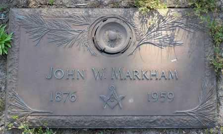 MARKHAM, JOHN WEST - Yavapai County, Arizona | JOHN WEST MARKHAM - Arizona Gravestone Photos