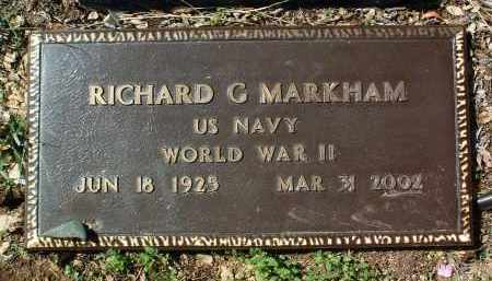 MARKHAM, RICHARD G. - Yavapai County, Arizona | RICHARD G. MARKHAM - Arizona Gravestone Photos
