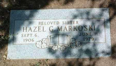 MARKOSKI, HAZEL GERTRUDE - Yavapai County, Arizona | HAZEL GERTRUDE MARKOSKI - Arizona Gravestone Photos