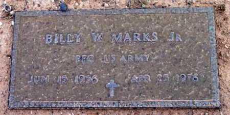 MARKS, BILLY W., JR. - Yavapai County, Arizona | BILLY W., JR. MARKS - Arizona Gravestone Photos
