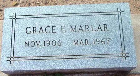 MARLAR, GRACE E. - Yavapai County, Arizona | GRACE E. MARLAR - Arizona Gravestone Photos