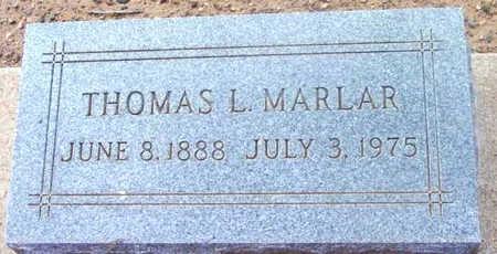 MARLAR, THOMAS LEE - Yavapai County, Arizona   THOMAS LEE MARLAR - Arizona Gravestone Photos