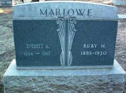 MARLOW, RUBY M. - Yavapai County, Arizona | RUBY M. MARLOW - Arizona Gravestone Photos