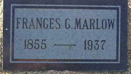 BAGLEY MARLOW, FRANCES - Yavapai County, Arizona | FRANCES BAGLEY MARLOW - Arizona Gravestone Photos