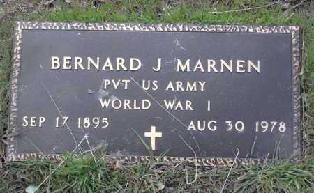 MARNEN, BERNARD J. - Yavapai County, Arizona | BERNARD J. MARNEN - Arizona Gravestone Photos