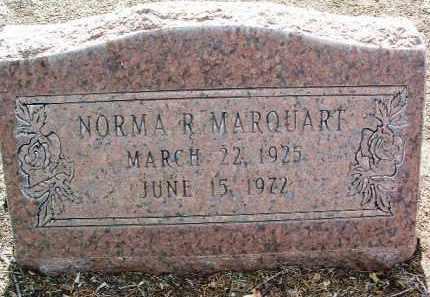 ROSS MARQUART, NORMA - Yavapai County, Arizona | NORMA ROSS MARQUART - Arizona Gravestone Photos