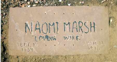 SHELTON MARSH, NAOMI - Yavapai County, Arizona | NAOMI SHELTON MARSH - Arizona Gravestone Photos