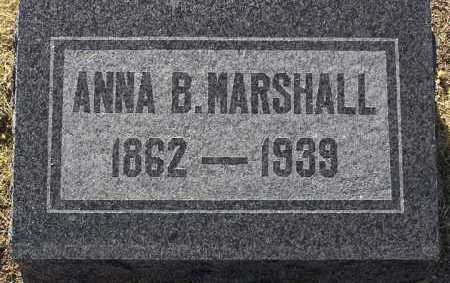 VOMFELDT MARSHALL, ANNA B. - Yavapai County, Arizona | ANNA B. VOMFELDT MARSHALL - Arizona Gravestone Photos