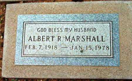 MARSHALL, ALBERT R. - Yavapai County, Arizona   ALBERT R. MARSHALL - Arizona Gravestone Photos