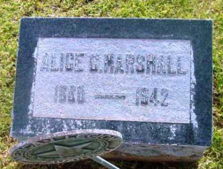 MARSHALL, ALICE C. - Yavapai County, Arizona | ALICE C. MARSHALL - Arizona Gravestone Photos