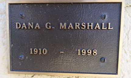 MARSHALL, DANA GEORGE - Yavapai County, Arizona   DANA GEORGE MARSHALL - Arizona Gravestone Photos