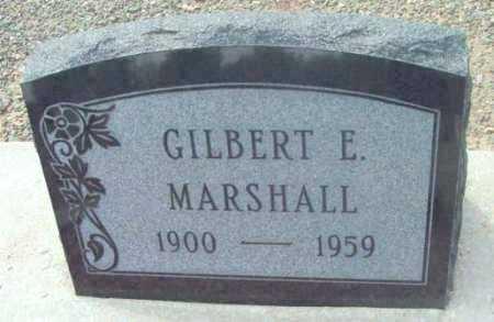 MARSHALL, GILBERT EARLY - Yavapai County, Arizona | GILBERT EARLY MARSHALL - Arizona Gravestone Photos
