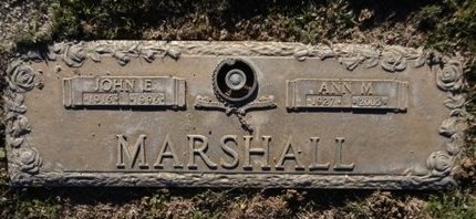 MARSHALL, JOHN EDWARD - Yavapai County, Arizona | JOHN EDWARD MARSHALL - Arizona Gravestone Photos