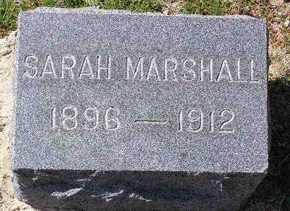 MARSHALL, SARAH - Yavapai County, Arizona | SARAH MARSHALL - Arizona Gravestone Photos