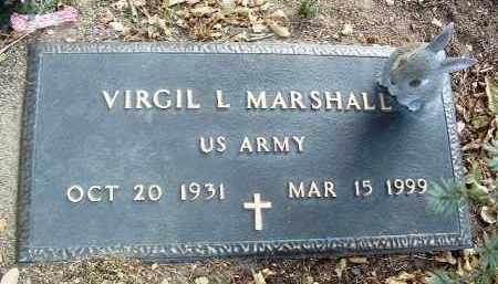 MARSHALL, VIRGIL LAVERNE - Yavapai County, Arizona | VIRGIL LAVERNE MARSHALL - Arizona Gravestone Photos