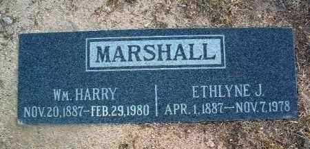 JOHNSON MARSHALL, E. - Yavapai County, Arizona | E. JOHNSON MARSHALL - Arizona Gravestone Photos