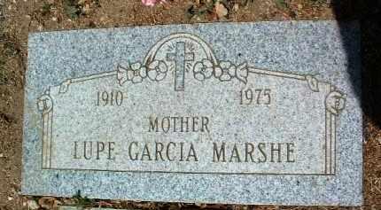 MARSHE, LUPE GARCIA - Yavapai County, Arizona | LUPE GARCIA MARSHE - Arizona Gravestone Photos
