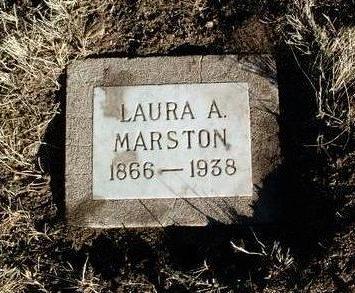 MARSTON, LAURA A. - Yavapai County, Arizona   LAURA A. MARSTON - Arizona Gravestone Photos
