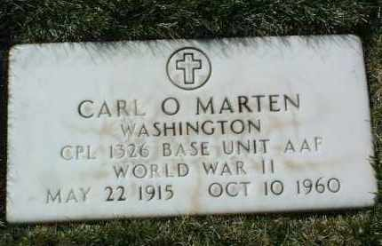 MARTEN, CARL O. - Yavapai County, Arizona | CARL O. MARTEN - Arizona Gravestone Photos