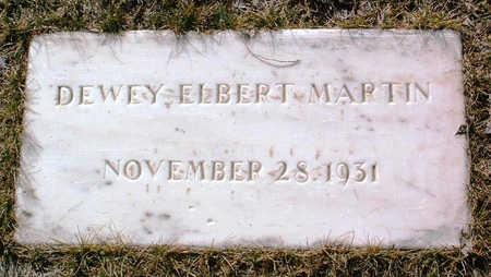 MARTIN, DEWEY ELBERT - Yavapai County, Arizona   DEWEY ELBERT MARTIN - Arizona Gravestone Photos