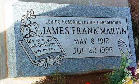 MARTIN, JAMES (FRANK) - Yavapai County, Arizona   JAMES (FRANK) MARTIN - Arizona Gravestone Photos