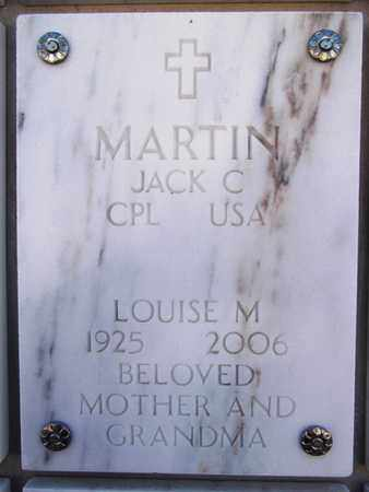 MARTIN, JACK C. - Yavapai County, Arizona | JACK C. MARTIN - Arizona Gravestone Photos