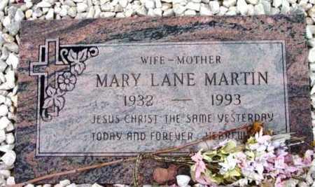 LANE MARTIN, MARY - Yavapai County, Arizona   MARY LANE MARTIN - Arizona Gravestone Photos