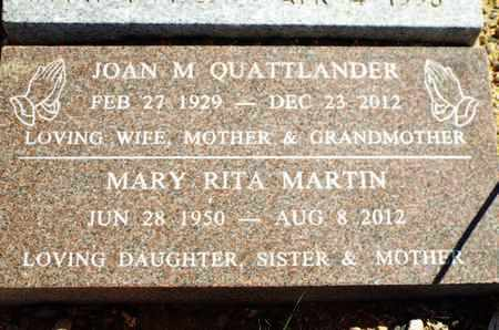 MARTIN, MARY RITA - Yavapai County, Arizona | MARY RITA MARTIN - Arizona Gravestone Photos