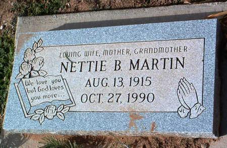 MARTIN, NELLIE BLANCHE - Yavapai County, Arizona   NELLIE BLANCHE MARTIN - Arizona Gravestone Photos